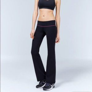 TNA Yoga Workout Exercise Flare Low Rise Leggings